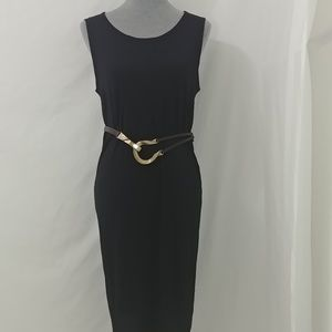Eileen Fisher 100% silk straight dress